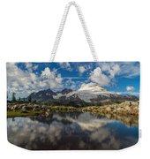 Mount Baker Cloudscape Weekender Tote Bag