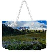 Mount Baker Lupine Meadows Weekender Tote Bag