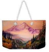 Mount Baker Morning Weekender Tote Bag