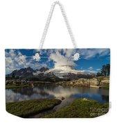 Mount Baker Skies Reflection Weekender Tote Bag