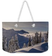 Mount Baker Snowscape Weekender Tote Bag by Mike Reid