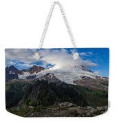 Mount Baker View Weekender Tote Bag