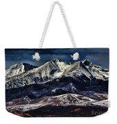 Mount Blanca Weekender Tote Bag