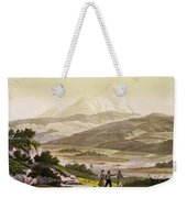 Mount Cayambe, Ecuador, From Le Costume Weekender Tote Bag