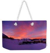 Mount Crested Butte 2 Weekender Tote Bag