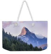 Mount Denman In Desolation Sound Marine Weekender Tote Bag