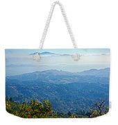 Mount Diablo From Mount Tamalpias-california Weekender Tote Bag