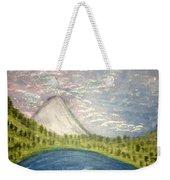 Mount Hood Night Sky Weekender Tote Bag