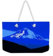Mount Hood Panoramic Weekender Tote Bag