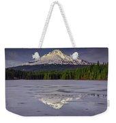 Mount Hood Reflections Weekender Tote Bag
