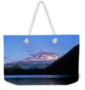 Mount Hoods Looms Over Lost Lake  Hood Weekender Tote Bag