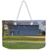 Mount Horeb Masonic Lodge 137 With Bluebonnets Weekender Tote Bag