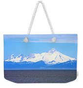 Mount Iliamna Across Cook Inlet From Ninilchik-alaska Weekender Tote Bag