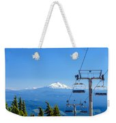 Mount Jefferson And Chairlifts Weekender Tote Bag