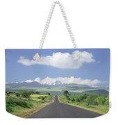 Mount Kenya Weekender Tote Bag