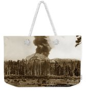 Mount Lassen Volcano California 1914 Weekender Tote Bag