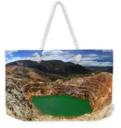 Mount Lyall Mine In Queenstown Weekender Tote Bag