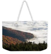 Mount Mitchell Morning Weekender Tote Bag