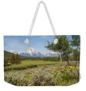 Mount Moran View Weekender Tote Bag by Brian Harig