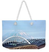 Mount Rainier Backdrop Weekender Tote Bag