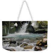 Mount Rainier Falls Weekender Tote Bag