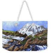 Mount Rainier From Edith Creek Weekender Tote Bag