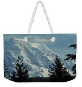 Mount Rainier From Patterson Road Weekender Tote Bag