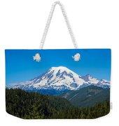 Mount Rainier Weekender Tote Bag