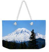 Mount Rainier Panorama Weekender Tote Bag