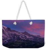 Mount Rainier Sunrise Weekender Tote Bag