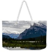 Mount Rundle And Vermilion Lake Weekender Tote Bag
