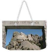 Mount Rushmore 3 Weekender Tote Bag