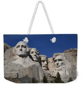 Mount Rushmore Weekender Tote Bag