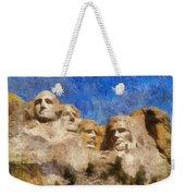 Mount Rushmore Monument Photo Art Weekender Tote Bag
