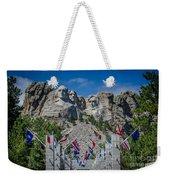 Mount Rushmore National Memorial Weekender Tote Bag