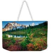 Mount Shuksan Fall Cornucopia Weekender Tote Bag