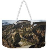 Mount Skalli From Mount Blahnukur Weekender Tote Bag