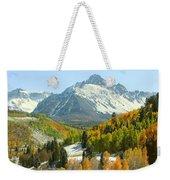 Mount Sneffels In Ridgway Colorado Weekender Tote Bag