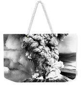 Mount St Helens Eruption Weekender Tote Bag