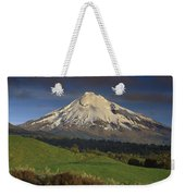 Mount Taranaki Western Flanks New Weekender Tote Bag