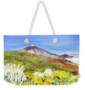 Mount Tiede In Tenerife Weekender Tote Bag