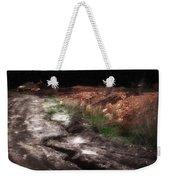 Mount Trashmore - Series Iv - Painted Photograph Weekender Tote Bag