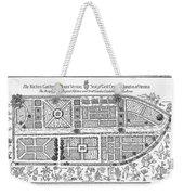 Mount Vernon: Garden Weekender Tote Bag by Granger