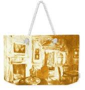 Mount Vernon In Golden Light Weekender Tote Bag