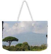 Mount Vesuvius Weekender Tote Bag