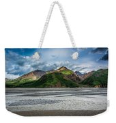 Mountain Across The River Weekender Tote Bag