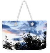 Mountain Ash Silhouette Weekender Tote Bag