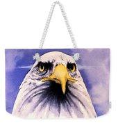 Mountain Bald Eagle Weekender Tote Bag
