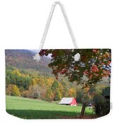 Mountain Barn Weekender Tote Bag