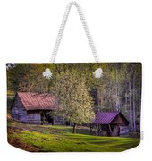 Mountain Barns In North Carolina Weekender Tote Bag